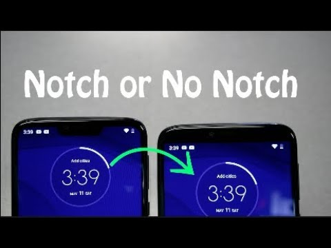 Moto G7 Power How To Remove The Notch