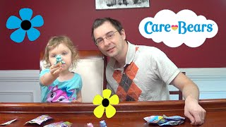 Genevieve Opens Care Bears Blind Bags Series 3