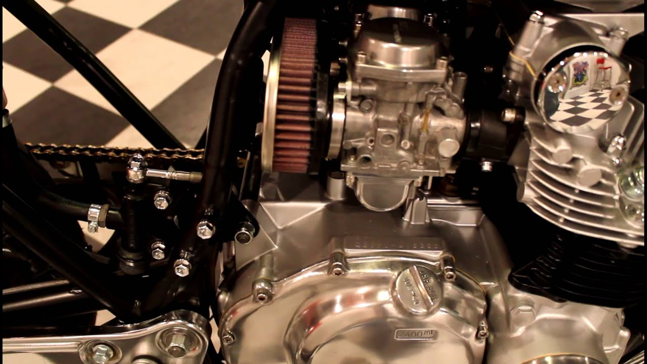 suzuki gs550 cafe racer project - youtube