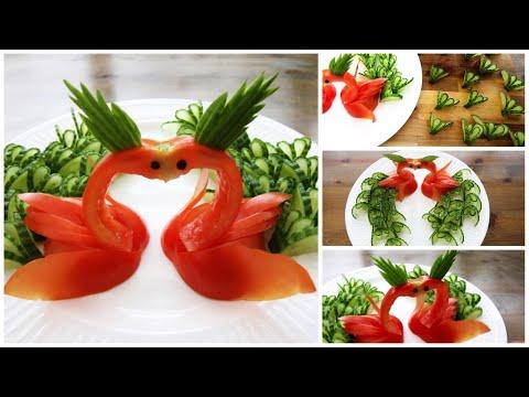 Super Salad Decorations Ideas - Creative Tomato Art Ideas