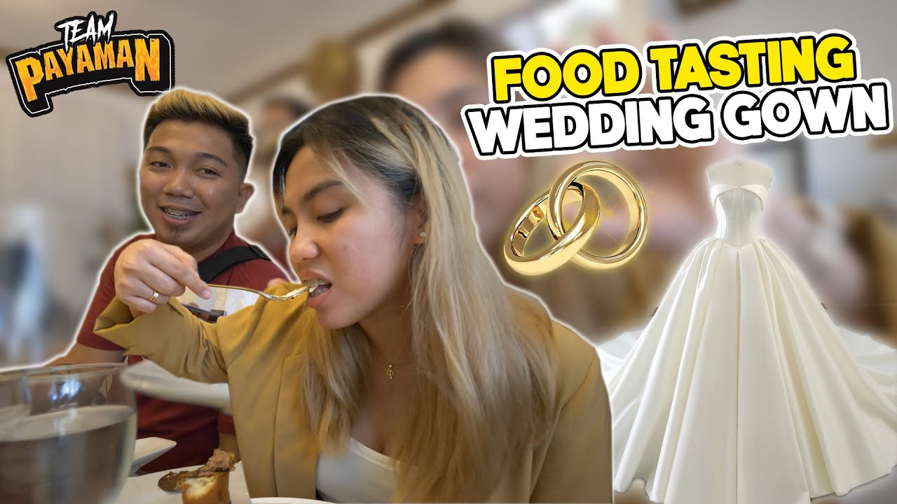 Food Tasting + Meeting w/ Francis Libiran for My Wedding Gown 👰♀️