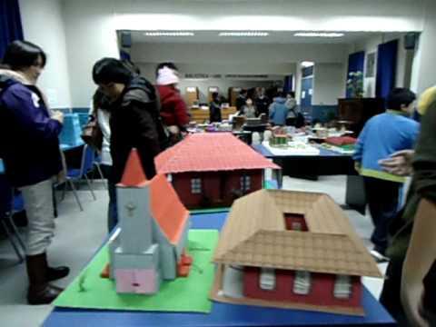 Expo maquetas casas coloniales salesianos talca avi youtube for Imagenes de casas coloniales