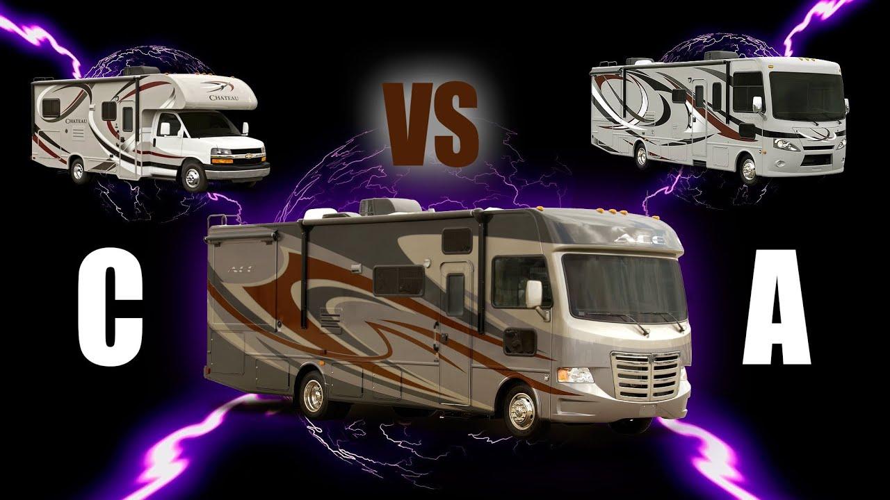 Best Of A Class A RV & Class C Motorhome Hybrid: Thor ACE