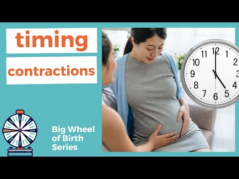 TIMING CONTRACTIONS: How to time contractions? How to use a contraction timer app