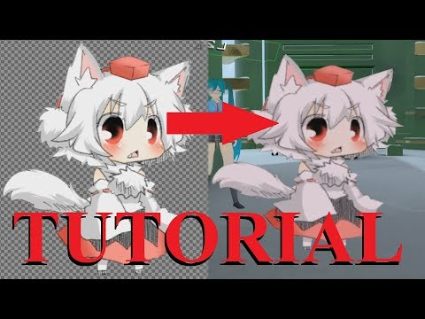 [VRChat Tutorial] How to turn a picture into a 2D avatar