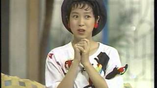 西村知美 トーク 巻き舌の練習(1993) 小出由華 検索動画 15