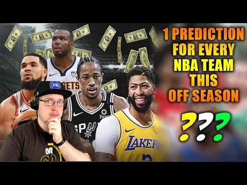 Reacting To 1 Prediction For Every Team In 2020 NBA Free Agency
