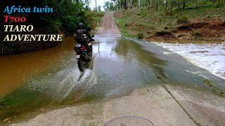 Yamaha T7 and Africa twin Adventure to Tiaro QLD