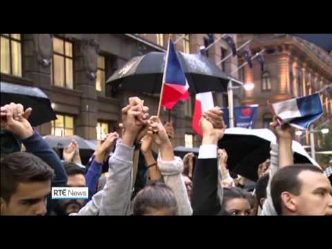 Today with Sean O'Rourke: Reflections on social media of Paris attacks 2015