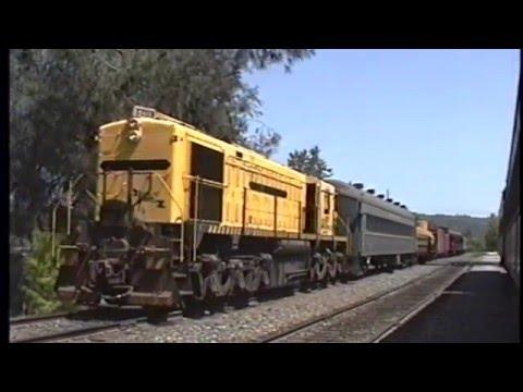 MRS-1 on Sierra Ry 6/20/92 at Jamestown, CA