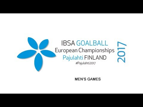 15.30 Gold match: Germany–Lithuania IBSA Goalball European Championships 22.9.2017