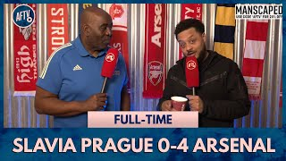 Slavia Prague 0-4 Arsenal | Put Some Respect On Lacazette's Name! (A Gassed Troopz)