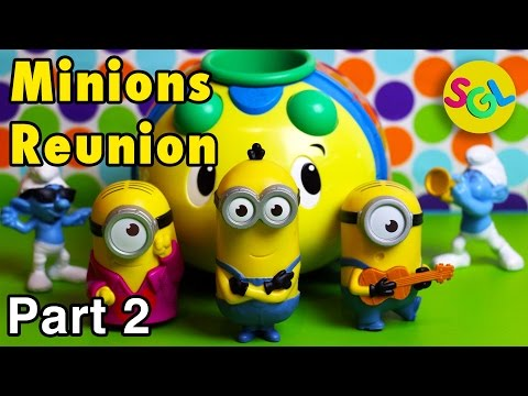 Minions Reunion - Part 2: 2015 McDonald's Happy Meal Toys (USA) from the Minions & Despicable Me