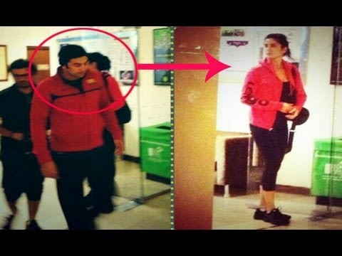 Ranbir Kapoor & Katrina Kaif Spotted In Sri Lanka