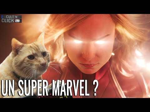 Captain Marvel : Critique sans et avec spoil