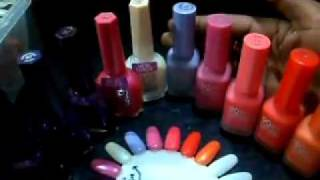 naturistics nail polish collection and review Thumbnail