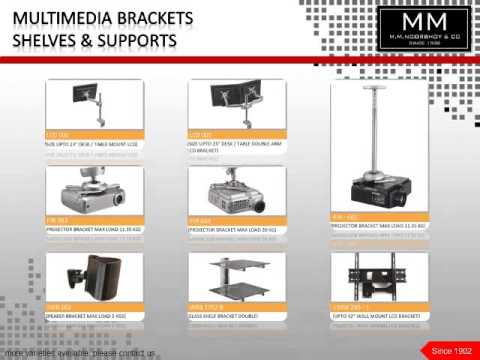 M M Noorbhoy Products Catalogue
