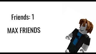 If you could only have one friend in roblox
