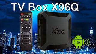 X96Q Смарт ТВ БОКС Allwinner H313 Android 10 ТВ-приставка TV Box X96 Q
