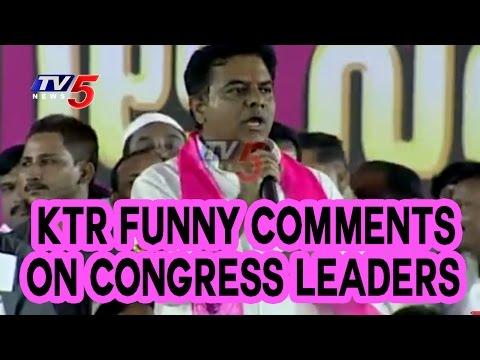 KTR Mind-Blowing Speech at Janahita Pragathi Sabha | Jagtial | TV5 News