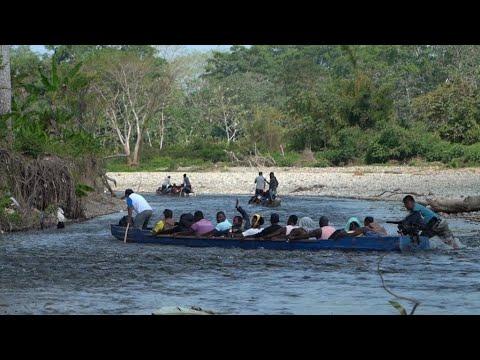 Migrants resume route through Panama's dangerous Darién jungle as borders reopen