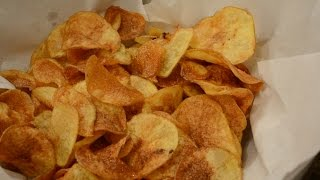 Kettle chips : Potato chips 3 Ways