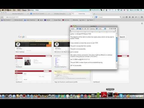 Socks Proxy Server Setup - YT