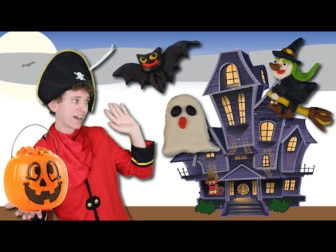 Halloween Song for Kids with Matt | Halloween Walk Action Song | Learn English Kids