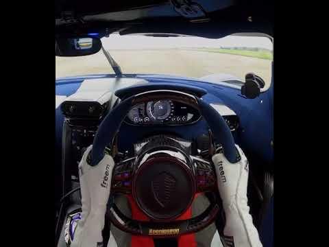 Koenigsegg Regera 0-404KMH