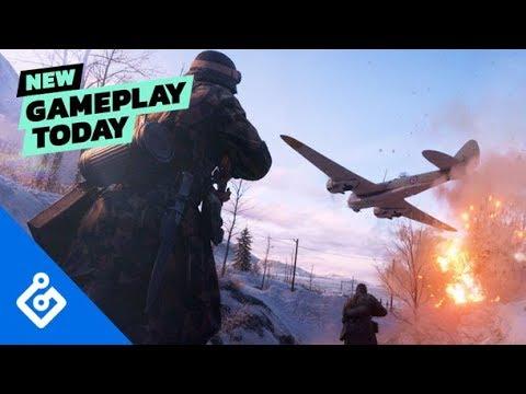 Горные лыжи и скучные миссии. Первый геймплей одиночной кампании в Battlefield 5