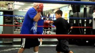 Lil Pacman @ The Wild Card Gym