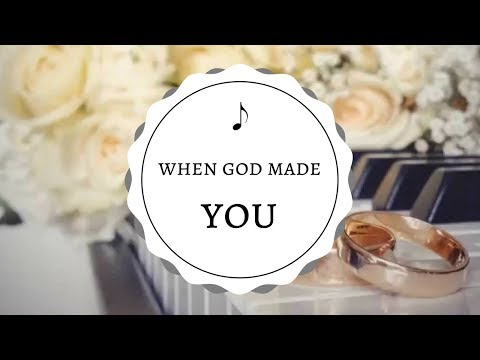 Tie the Note - When God Made You (Piano Wedding Album)