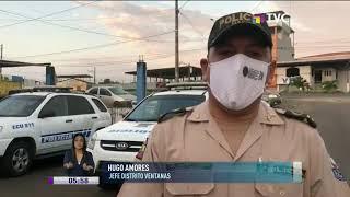 Multitudinario sepelio irrespetó el toque de queda en Los Ríos