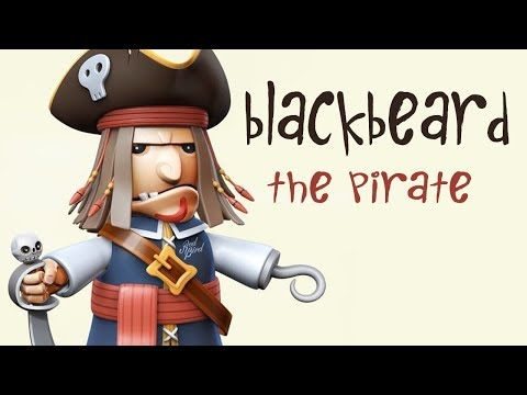 BLACKBEARD THE PIRATE KIDS STORY