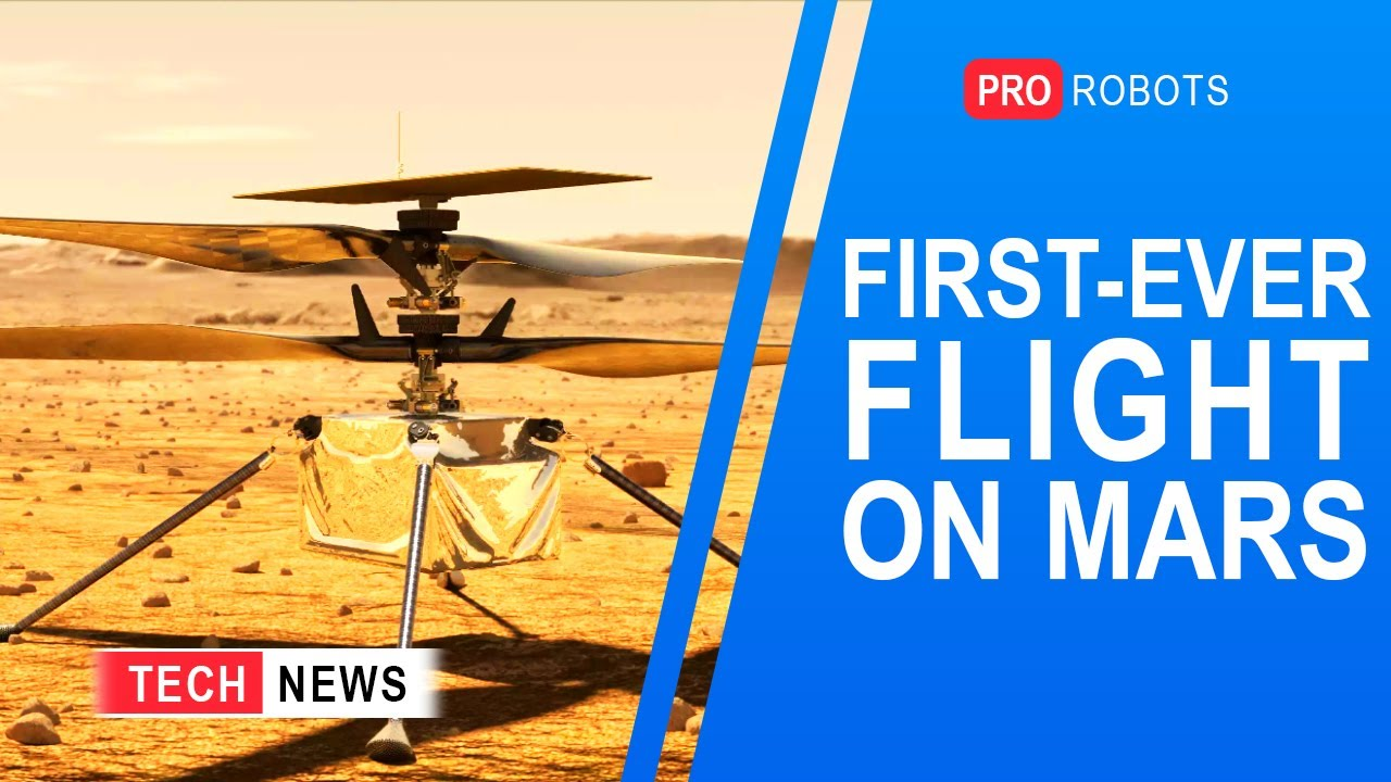 First Controlled Flight to Mars | Aerotaxi | Construction Robots