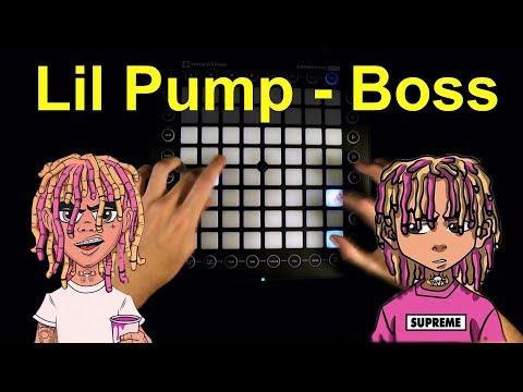 Lil Pump - Boss But I played it on Launchpad (Instrumental)
