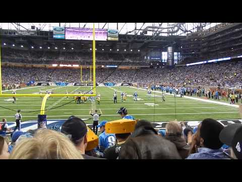 Green Bay Packers vs. Detroit Lions: Field Goal Good By David Akers