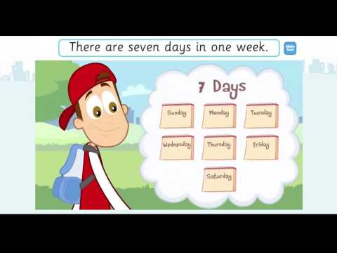 Days Of The Week Sing Along