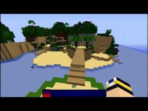 Kingdom Hearts Map Ep. 1 - Destiny Islands (Minecraft Custom Map)