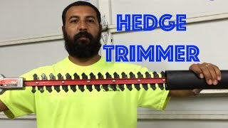 How to Sharpen Hedger Blades. Trimmer Plus