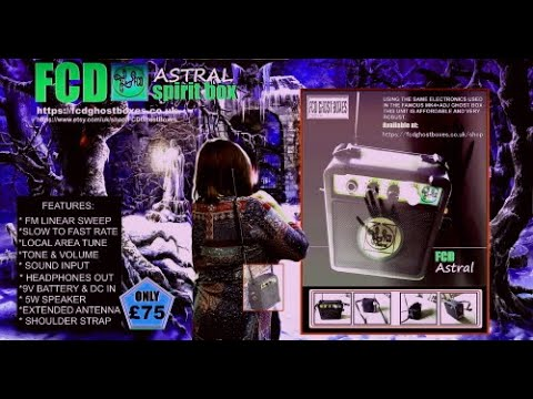 It's new and available from FCD now! The FCD Astral Ghost Box