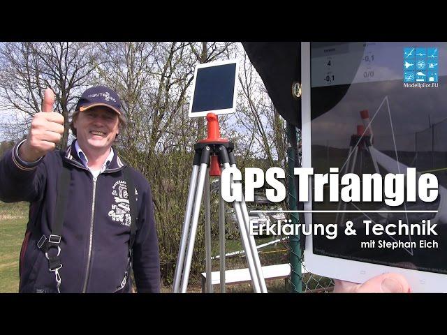 Taktik des GPS Segelfliegens - GPS Triangle