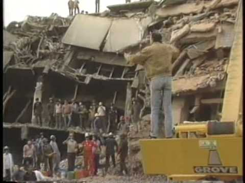 Earthquake Mexico 1985