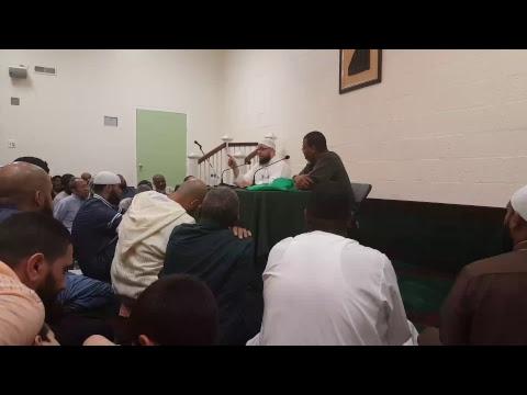 Shaykh Taahir Wyatt / Lecture , Prince George's Muslim Association 7/27/17