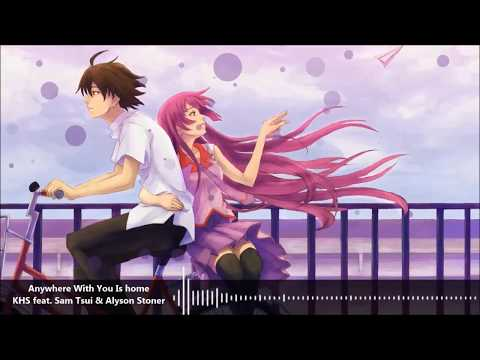 [Anywhere With You Is Home~Nightcore]-[Lyrics]