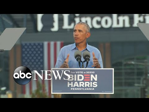 President-Obama-unleashes-on-Trump-ahead-of-final-debate-with-Biden-l-GMA