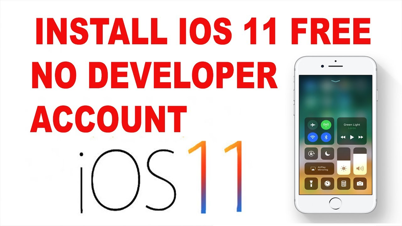 how to install IOS 11 for free no developer account working link