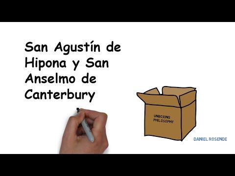 San Agustin de Hipona y San Anselmo de Canterbury