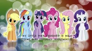 My Little Pony Theme Song Extended Version Instrumental