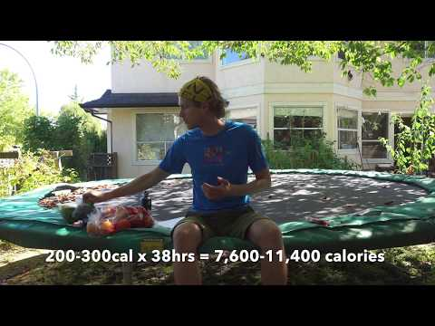 100+ Mile Ultra-marathon Nutrition Strategy, Raw vegan  (From Fat Dog 120)